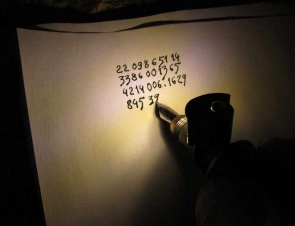 Ручка штурмана-наводчика ночного дирижабля-бомбера.