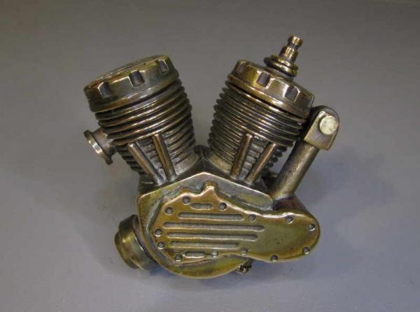 Зажигалка - движок Harley-Davidson, версия II (116).