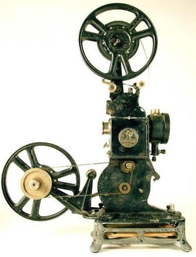 Винтажный кинопроектор.
