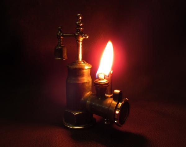 Сантехпанк. Зажигалка №129.