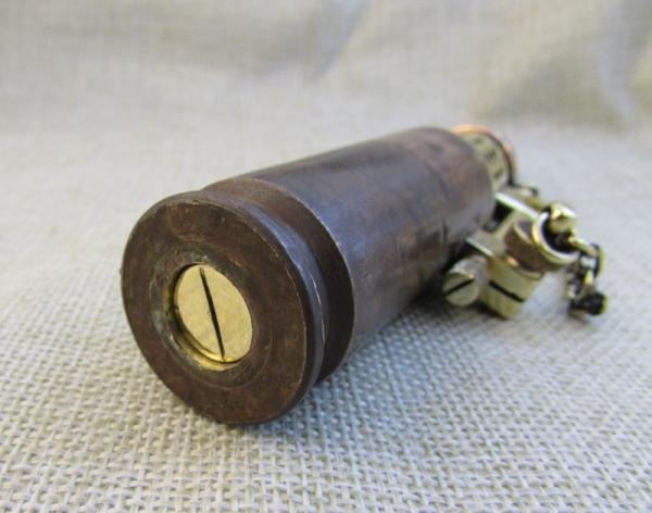 Зажигалка - лампа из гильзы, долгоиграющая, №136