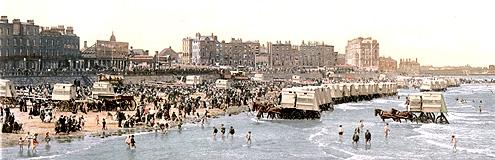 Пляжный этикет Викторианских времен.