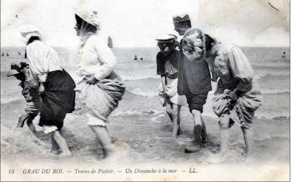 Пляжный этикет Викторианских времен. (Фото 6)