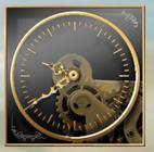 Стимпанк-часы для компьютера