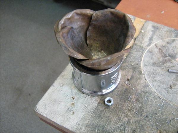 Цветок из металла (ворк) (Фото 6)