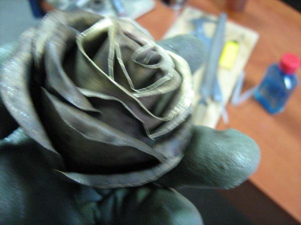 Цветок из металла (ворк) (Фото 19)