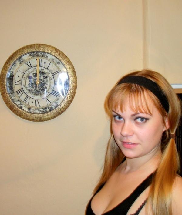 Преображение часов.Декупаж. (Фото 12)