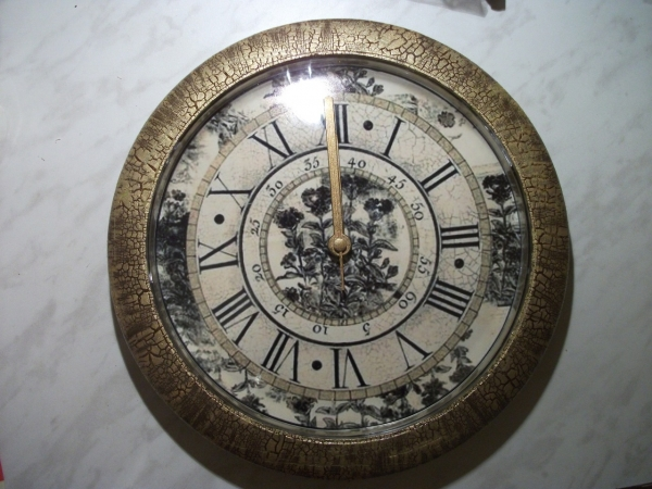 Преображение часов.Декупаж. (Фото 11)