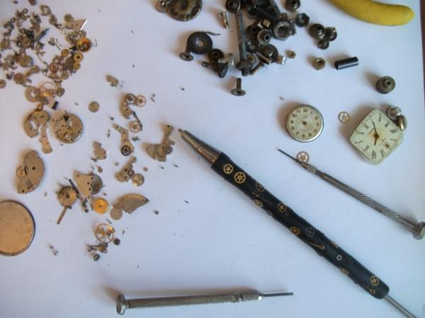 Ручка стимпанкера.Первый опыт с эпоксидкой. (Фото 6)