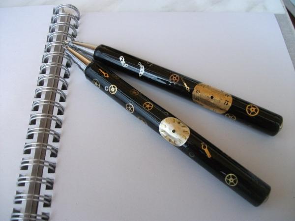Ручка стимпанкера.Первый опыт с эпоксидкой.