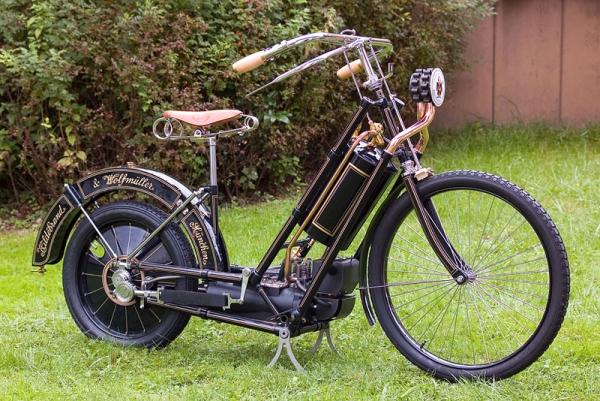 Стимпанк, мотоциклы и мотоколяски (Фото 5)