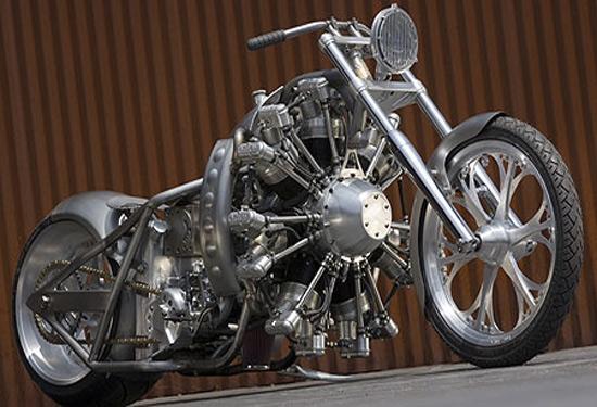 Стимпанк, мотоциклы и мотоколяски (Фото 9)