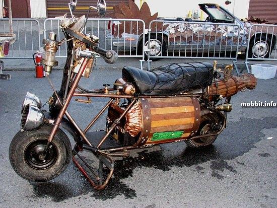 Стимпанк, мотоциклы и мотоколяски (Фото 10)