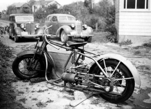 Стимпанк, мотоциклы и мотоколяски (Фото 4)