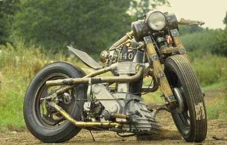 Стимпанк, мотоциклы и мотоколяски (Фото 11)