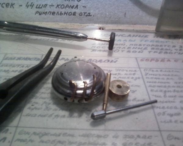 Настольные часы с подсветкой. (Фото 7)