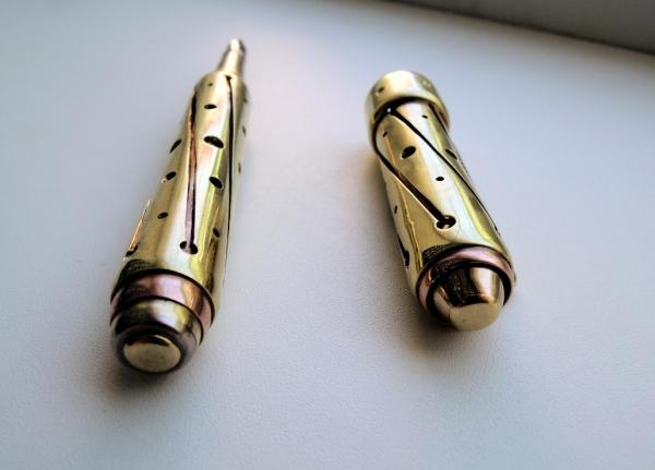 Стимпанк ручка Gold Edition