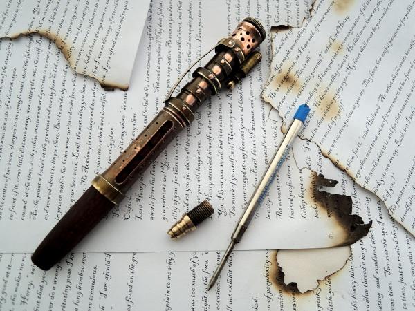 Ручка огненных страниц