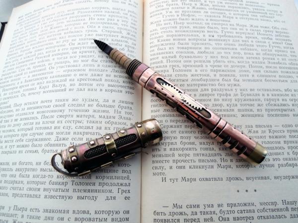 Стимпанк ручка Изо всех сил.