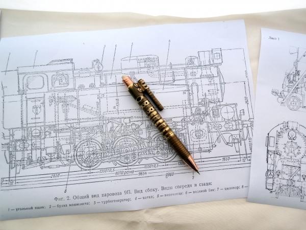 Простой механический карандаш.