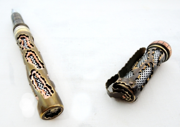 Стимпанк ручка Бездна XVI