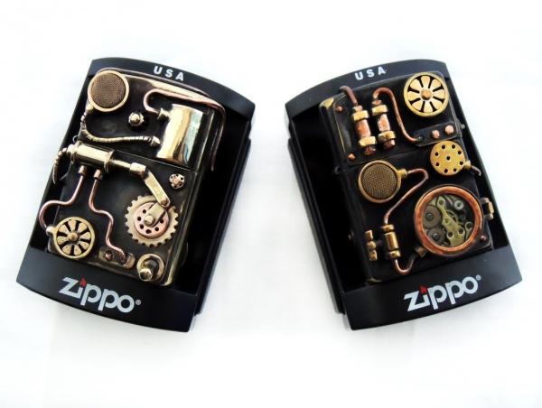 Zippo стимпанк.