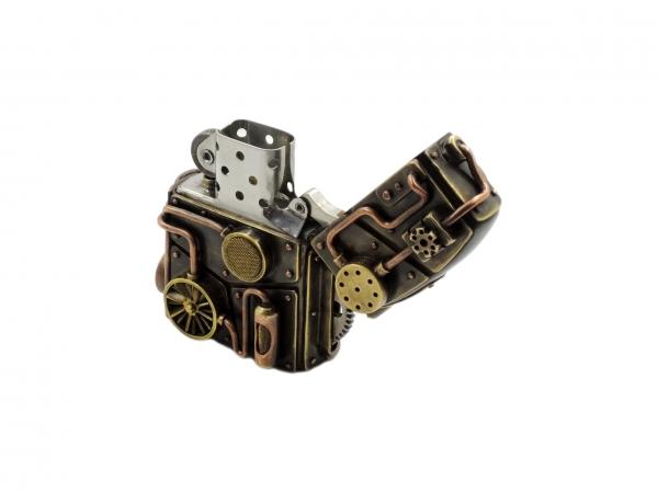 Зажигалка Зиппо в броне 2.0