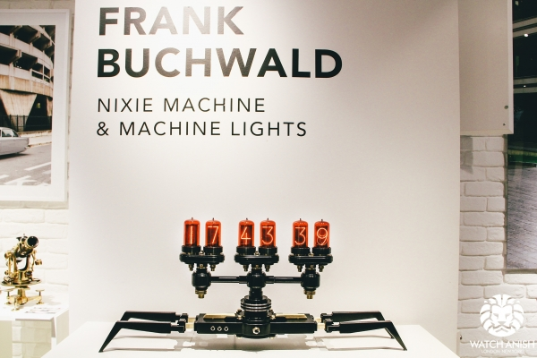 Часы от Frank-Buchwald для M.A.D.Gallery
