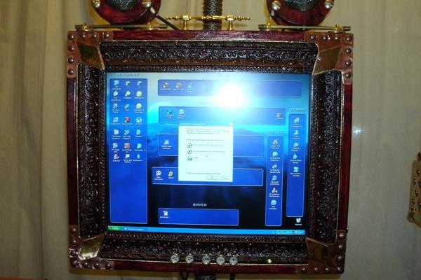Компьютер в Викторианском стиле (Фото 3)