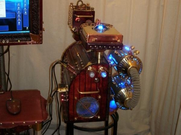 Компьютер в Викторианском стиле (Фото 2)