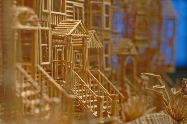 Город из зубочисток (Фото 12)
