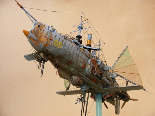 """Стимпанк в моделизме или летающий броненосец """"Dawn treader"""" (Фото 4)"""