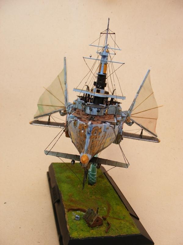 """Стимпанк в моделизме или летающий броненосец """"Dawn treader"""" (Фото 3)"""
