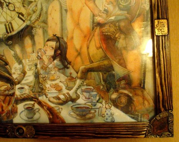 "Рама для ""Безумного чаепития"". (Фото 6)"