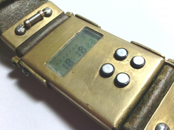 Моя вторая работа. Часы Электроника.