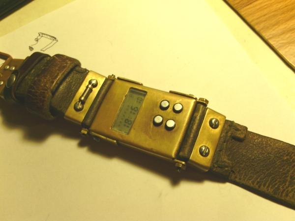 Моя вторая работа. Часы Электроника. (Фото 2)