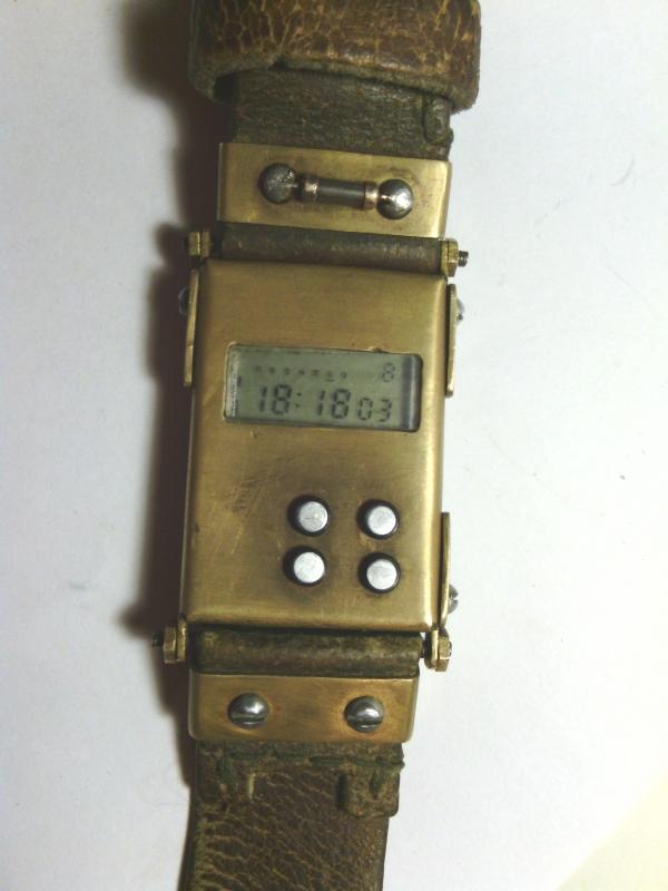 Моя вторая работа. Часы Электроника. (Фото 3)