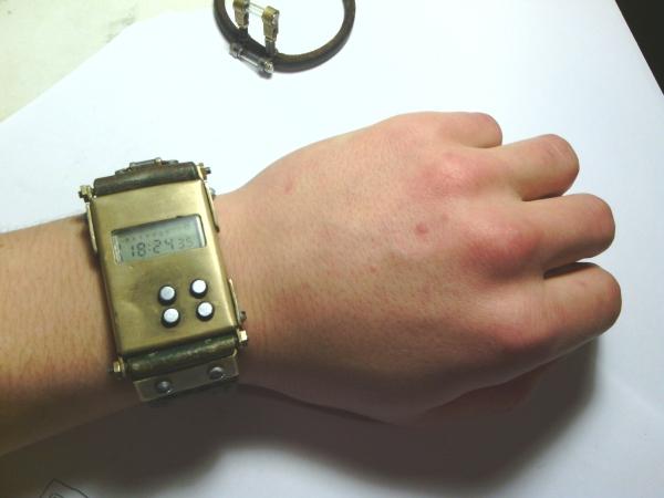 Моя вторая работа. Часы Электроника. (Фото 5)