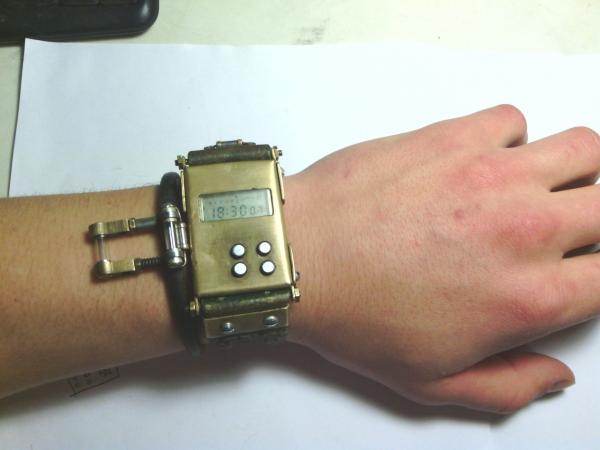 Моя вторая работа. Часы Электроника. (Фото 6)