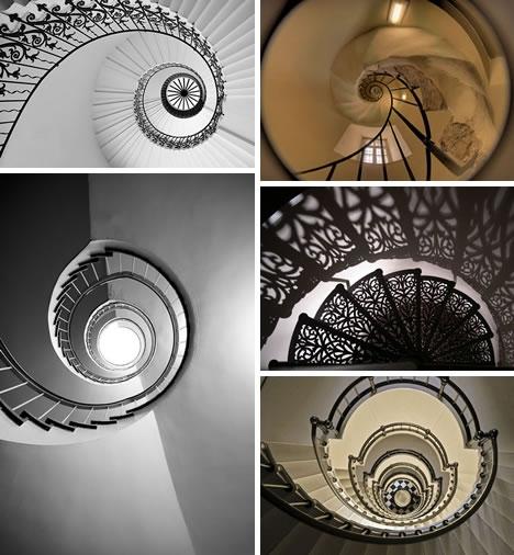 Винтовые лестницы (Фото 20)