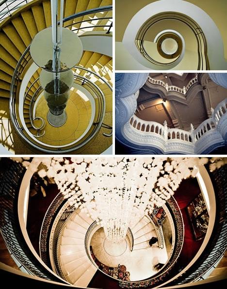 Винтовые лестницы (Фото 21)
