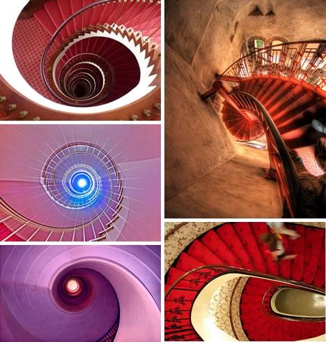 Винтовые лестницы (Фото 9)