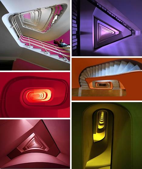 Винтовые лестницы (Фото 17)