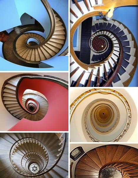 Винтовые лестницы (Фото 7)