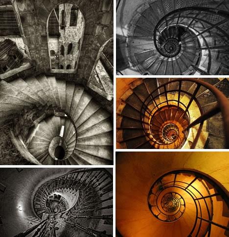 Винтовые лестницы (Фото 18)