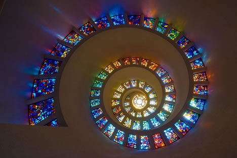 Винтовые лестницы (Фото 12)