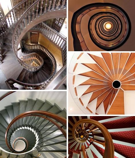 Винтовые лестницы (Фото 19)