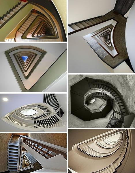 Винтовые лестницы (Фото 10)