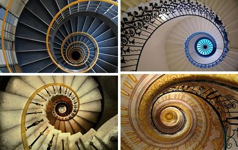 Винтовые лестницы (Фото 16)