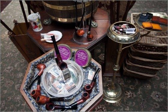 Музей Шерлока Холмса(немного Steampunk,дух старой, доброй Англии) (Фото 4)